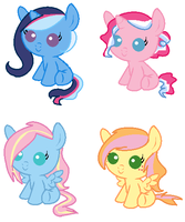 Shipping foals adopts [CLOSED] by SpellboundAdopts