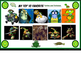 K-dog0202's Top 10 Favorite Turtles and Tortoises by K-dog0202