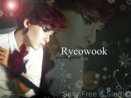 Super Junior 6jib 'Sexy Free + Single' - Ryeowook by ForeverK-PoPFan