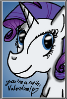 You're A Rarity by MicroGalaxies