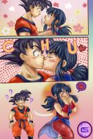 ChichixGoku CHU=KISS by ChristianStrange3
