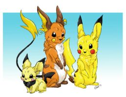 The Chu family by audioslavekitty