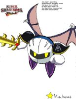 Meta Knight by ss2sonic