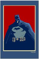 Batman Print by ChrisMcJunkin
