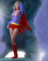 Supergirl Fortress of Solitude Retro 1970's by DevilishlyCreative