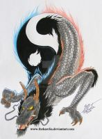 YinYang Dragon by TheKarelia
