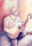 Guitarist by WinterGlace