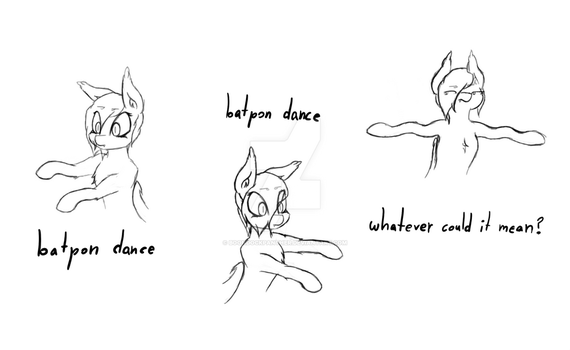Batpon Dance by BoondockPanther