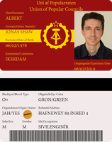 National ID Card - Union of Popular Councils by AlienatedHumour