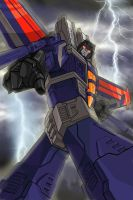 Thundercracker by lightning by wordmongerer