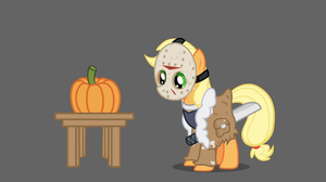 Night Mares of Ponyville - Applejack by Kanduli