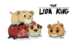 The Lion King TsumTsum by AzzWrath