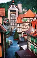 Colmar Tropicale French Village by Khaled-vision