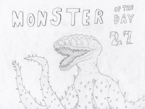 Monster of the Day 27 by gojira92