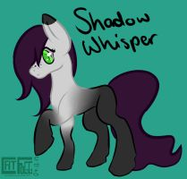 .: Shadow Whisper Reference :. by ZeraMist