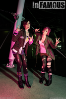 Fetch Twins - inFAMOUS First Light and Second Son by Lithium-Toxide
