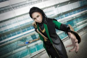 Loki: Come Here You Pesky Mortal by yinami