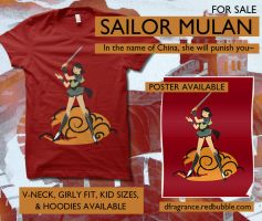 Sailor Mulan by digitalfragrance