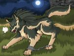 Wolf Link MS Paint WATCH OUT by calistamonkey