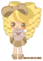 Chibi for Cake - Miichacore by Minty-Kitty-Art