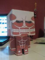 Colossal Titan Cubee Finished by rubenimus21