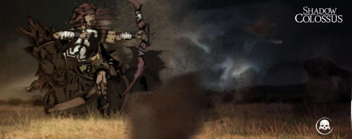 Fan Art Shadow of the Colossus by Yoshu37