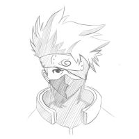 Kakashi Hatake sketch by gta261