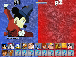 Disney Mugen Roster by Placemario