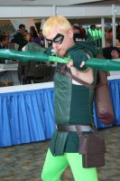 Green Arrow by Witch-Hunter-87