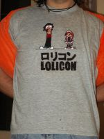 Lolicon t-shirt by Mameha87