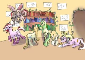 All The Ponies Finished by foxhat94