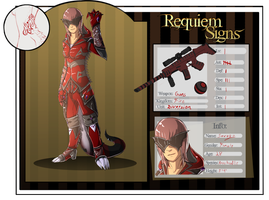 Savage App requiem signs by Kuroleopard