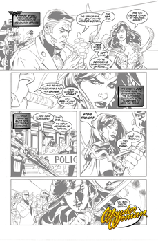 Wonder Woman Page 4 by wetterink