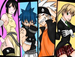 Soul eater team by epicminion