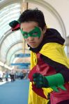 Damian Wayne SDCC '14 2 by FloresFabrications