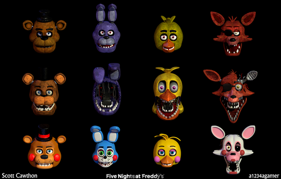 Five Nights at Freddy's Poster by a1234agameer