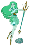 OC Fusion: Amazonite by Cyvine