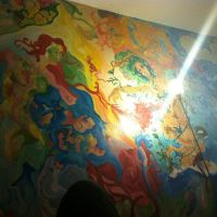 Rock's Wall. My half of the wall. by LisaFreds