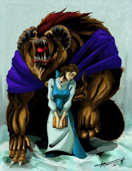 The beauty and the beast by Wurdalack