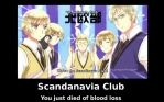 Scandanavia Club Demotivational by whatMadnessIsThis