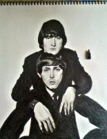 Lennon and McCartney by LaceyAndTheLevee