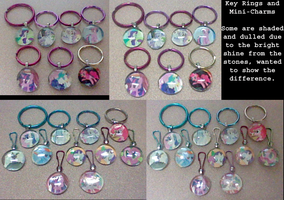 Remaining MLP FiM charms by lcponymerch