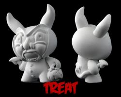 Dunny Monster : DIY Teat by zombiemonkie