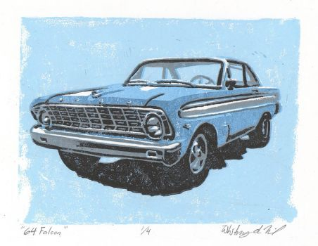 Ford Falcon by WhitneyduMenil