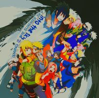 Naruto - Lovers by BluemonsterNC