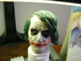 Joker sculpt 1 by frasierdalek