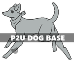 P2U Dog Base :Half Price!: by bittydanca