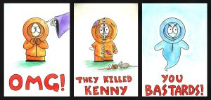OMG They Killed Kenny by AndreaOfTheLand