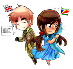 PC for Cioccoreto- England and Seychelles by Quenixy
