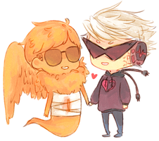 lil hal and davesprite by velvetcat09